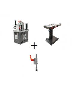 Mafell Combiset- Naadloze kantenbandmachine HIT-M 65 + aandrukrol + BAT bewerkingstafel