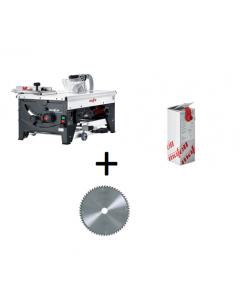 Mafell - Erika 85 + Mafell spanenopvangsysteem cleanbox + Mafell zaagblad hardmetaal 250 mm Z60, WZ