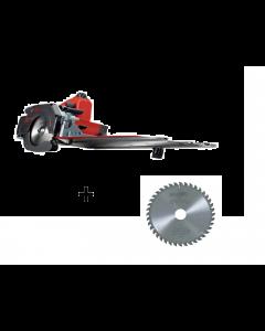 Mafell Afkort-zaagsysteem KSS 40 18M bl in T-MAX + Mafell zaagblad hardmetaal 120mm Z40, FZ/TR