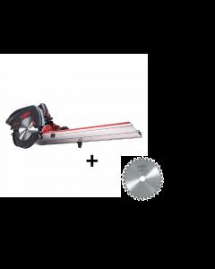 Mafell Afkort-zaagsysteem KSS 60 cc + Mafell zaagblad hardmetaal 185mm Z32, WZ
