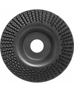 Powerrasp Raspschijf 125x3x22mm vlak middelgrof